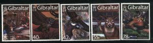 Gibraltar   set of 5   M NH VF  PD