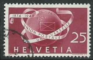 Switzerland =  Scott # 323 - Used