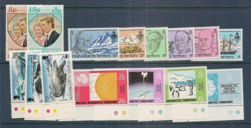 Br Antarctic Territory Modern Selection MNH
