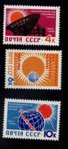 Russia Scott 2839-2841 MNH** stamp set
