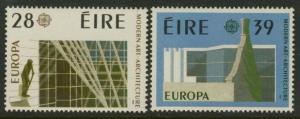 Ireland 689-90 MNH Europa, Architecture