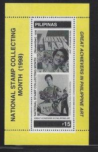 2575 Nat'l Stamp Collecting Month/Movies Siete Infantes de Lara CV$4