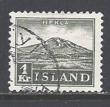 Iceland Sc # 194 used (RS)