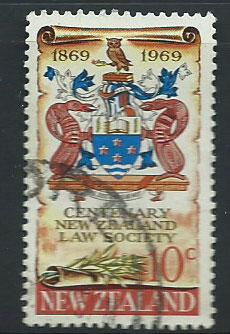 New Zealand SG 895 Very Fine Used