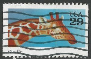 UNITED STATES 2705 VFU GIRAFFE Z6-200-4