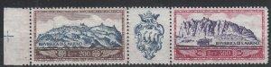 San Marino - air stamp strip Sc# C99a - MNH  (7248)