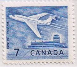 Canada Mint VF-NH #414 Jet Plane