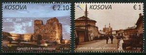 HERRICKSTAMP NEW ISSUES KOSOVO Sc.# 295-96 Vushtrria City