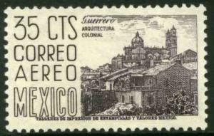 MEXICO C220C 35¢ 1950 Definitive 2nd Printing wmk 300 MINT, NH. VF.