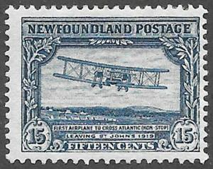 Newfoundland Scott Number 180 F H