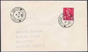 GB SCOTLAND 1969 cover PENIFILER PORTREE / ISLE OF SKYE cds................53926