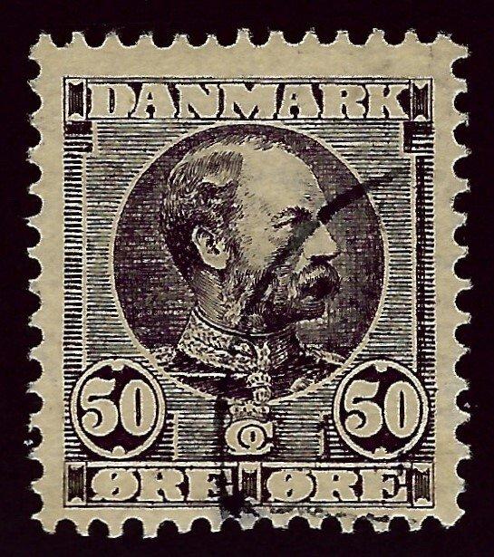 Denmark SC#68 Used F-VF hr SCV$120.00...Beautiful Denmark!