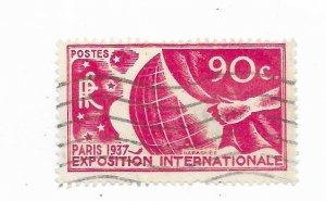 France #319 Used - Stamp - CAT VALUE $6.00