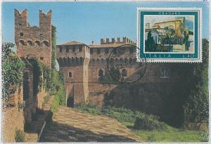 MAXIMUM CARD - Architecture : ITALY Italia 1974