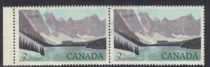 CANADA SC# 936 USED $1 1982  PAIR BANFF PARK SEE SCAN
