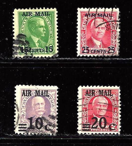 United States - Canal Zone #C2-5 used F/VF
