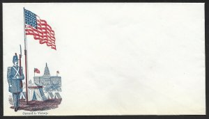 2 DIFF. MALE W/ FLAG DESIGN PATRIOTIC COVERS BV3432