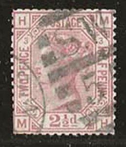 Great Britain 66 [pl3] [u] CV $75.00