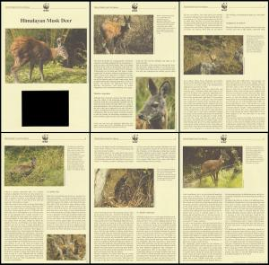 Afghanistan WWF Himalayan Musk Deer Info pages