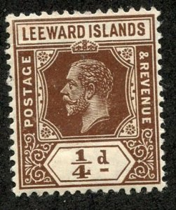 Leeward Isl, Scott #46 Unused, Hinged