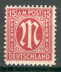 Germany - Allied Occupation - AMG - 3N9 MNH (SP)