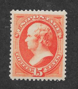 189 MNH, 15c. Webster, PSE Cert, Red Orange, Free, Insured Shipping