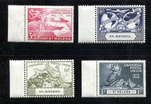 x519 - ST HELENA - 1949 UPU Set - Mint MNH