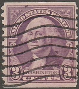 USA stamp,Scott# 842, used Coil stamp, perf 10 vert, Jefferson, #USA842