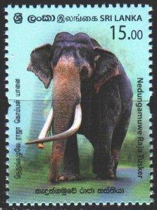 Sri Lanka. 2019. Elephant fauna. MNH.