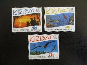 Kiribati #631-33 Mint Never Hinged (M7N4) - Stamp Lives Matter! 2