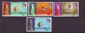 J24115 JLstamps 1968 bahamas set mh #276-9 sports