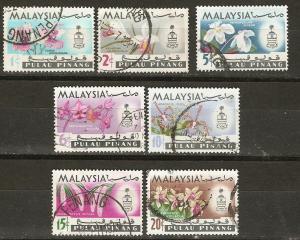 Malaya Penang 67-73 SG 66-72 VF 1965 F/VF SCV $4.55