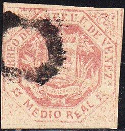 Venezuela  #19    Used
