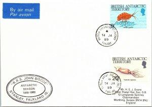 1989 British Antarctic Territory 167