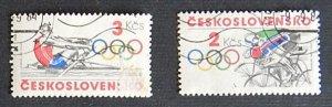 Czech Republic, Sport, Olympian Games, Czechoslovakia, (1119-Т)