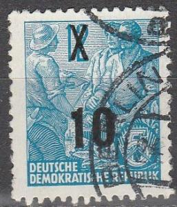 DDR #218 F-VF Used  (S6182)