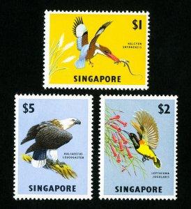 Singapore Stamps # 67-9 VF OG LH Top Value Catalog Value $60.00