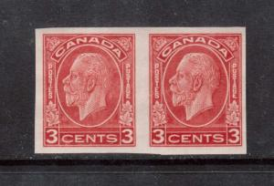 Canada #197b VF Mint Imperforate Pair