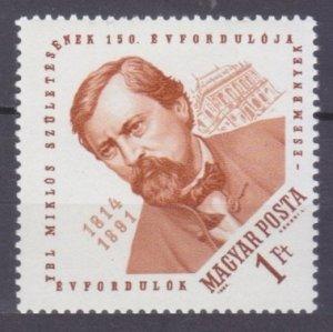 1964 Hungary 2029 150 years of Miklos Ybl