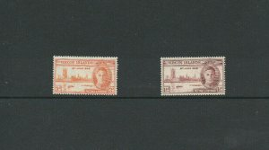 Virgin Islands Postage #Stamps sc#88-89 Peace Hinged