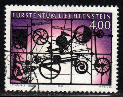 Liechtenstein # 1024 ~ Used, HMR ~ cv 5.50