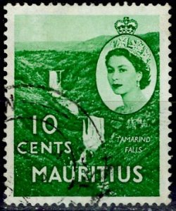 Mauritius; 1953: Sc. # 255: O/Used Single Stamp