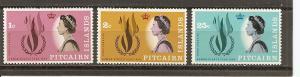 Pitcairn 88-90 MNH