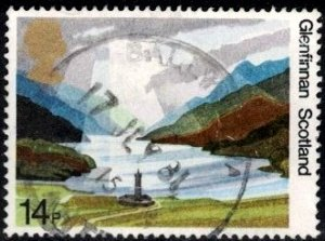 50th Natl. Trust Scotland, Great Britain SC#945 used