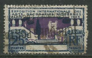 France - Scott 223- General Issue -1924 - Used -Single 25c Stamp