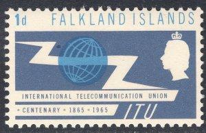 FALKLAND ISLANDS SCOTT 154