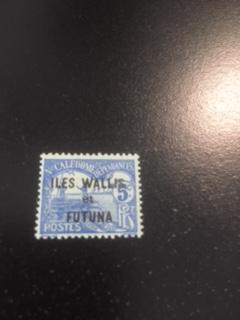 Wallis + Futuna Islands sc J1 MH