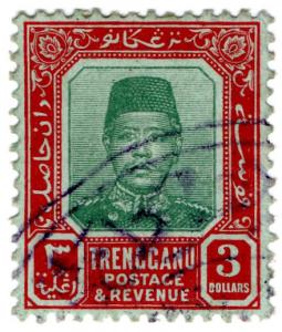 (I.B) Malaya States Revenue : Trengganu Duty $3