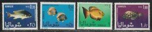 Somalia #316-319 Mint Lightly Hinged Full Set of 4 cv $5.25