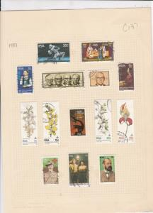 south african 1981 stamps page ref 17908
